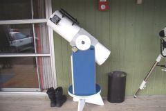 "8"" Reflector Telescope with Starlight Focuser."