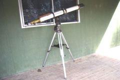 """4"""" Refractor Telescope with CG5 mount."""