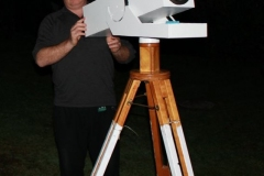 5 inch homemade Rich Field refractor.