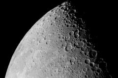 Moon First Quarter