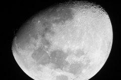 Waxing Gibbous Moon.