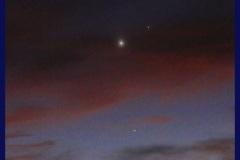 Jupiter, Venus & Mercury