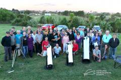 Dark Sky Observing Night at Wainui Group Photo